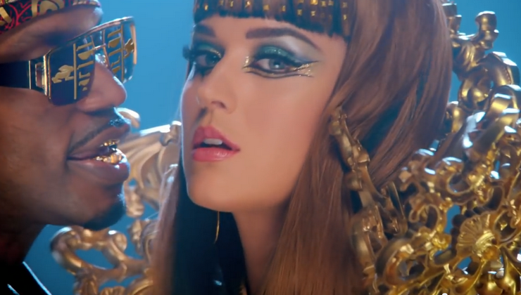 maquillage cléopatre katy perry