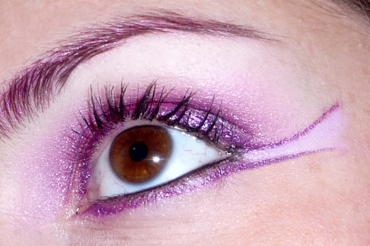 base yeux maquillage