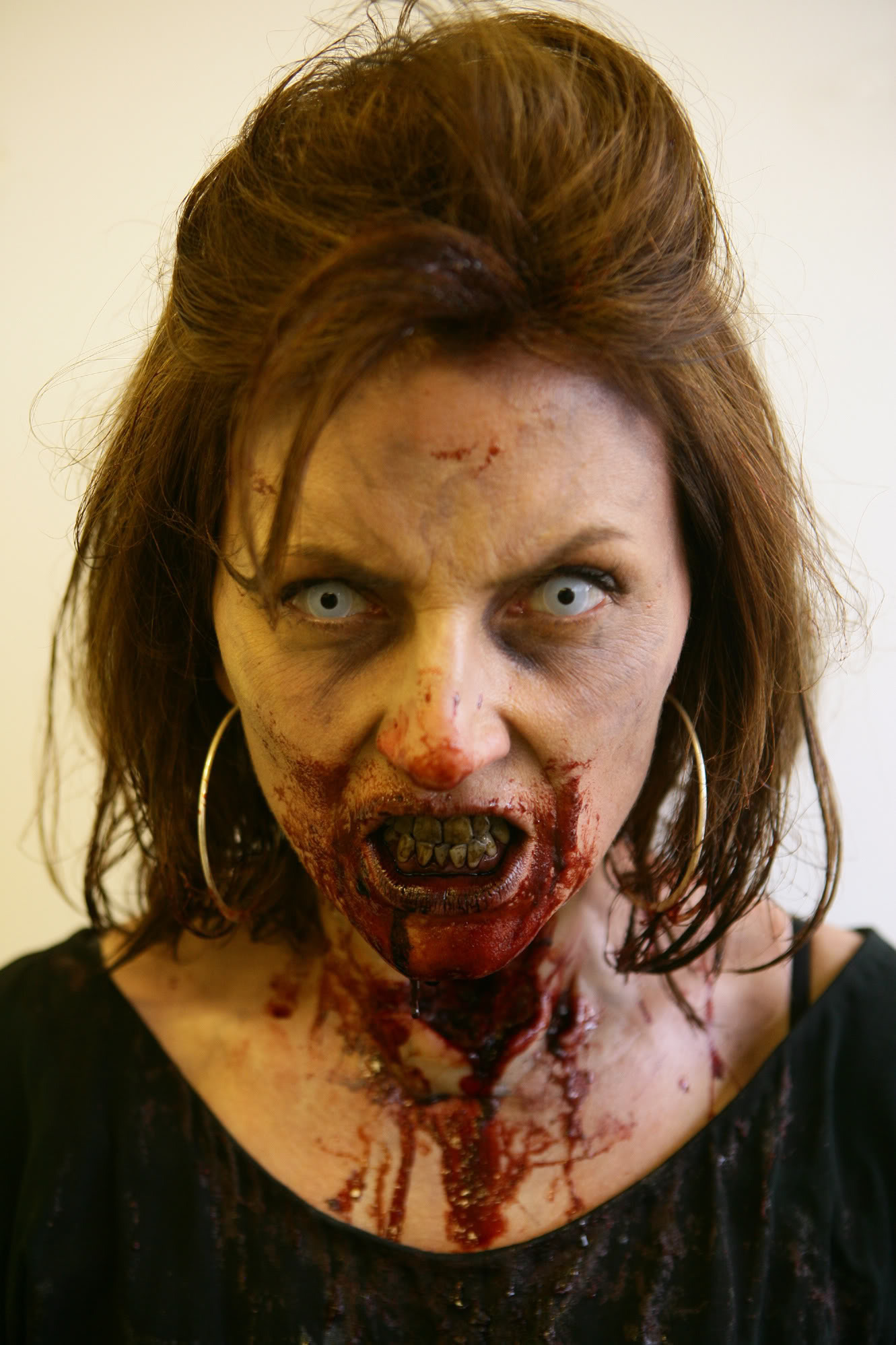maquillage zombie